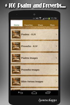🙏 Psalms and Proverbs Daily Verses with Faith 🙏 screenshot 8