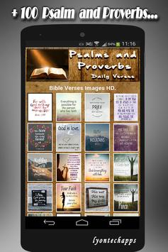 🙏 Psalms and Proverbs Daily Verses with Faith 🙏 screenshot 3