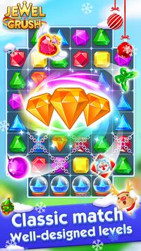 Jewel Crush™ - Jewels & Gems Match 3 Legend poster