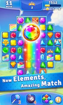 Jewel Crush™ - Jewels & Gems Match 3 Legend screenshot 1