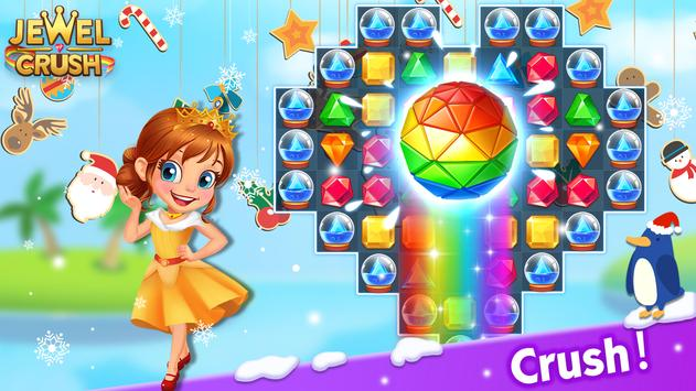 Jewel Crush™ - Jewels & Gems Match 3 Legend screenshot 5