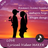 Love Lyrical Video Maker icon