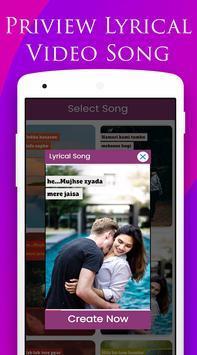 Love Lyrical Video Maker screenshot 2