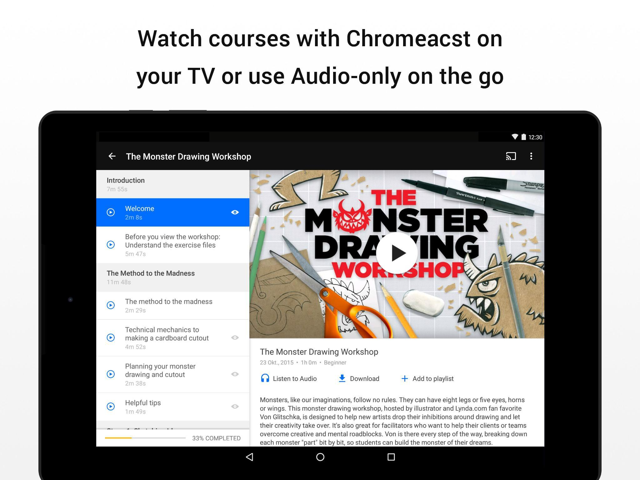 Lynda - Online Training Videos for Android - APK Download