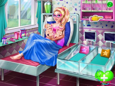 super Doll Twins Birth - Pregnant game screenshot 14