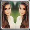 Editor de Fotos Espejo Efecto: Collage & Reflexión icono