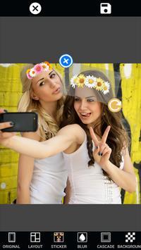 與照片編輯和構成作用的照片框架拼貼畫 - 編輯與貼紙,字體和emojis的照片免費 截圖 6