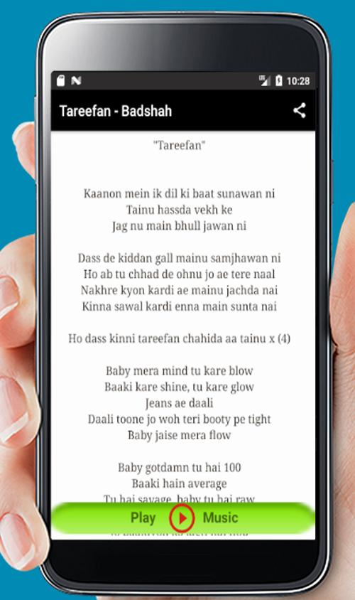 Tareefan Song - Badshah for Android - APK Download