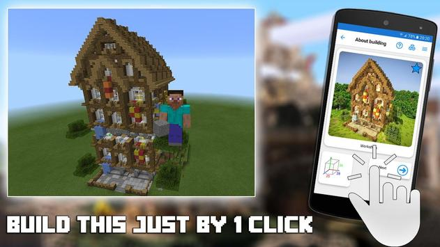 Builder for Minecraft PE Free Ekran Görüntüsü 1