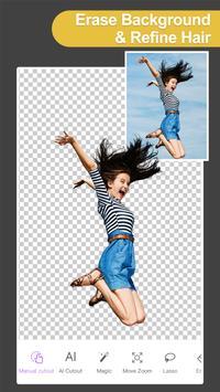 Pro Knockout-Background Eraser Superimpose Photos penulis hantaran