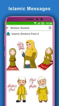 Islamic Stickers for Whats App: WAstickerapp 2019 screenshot 3