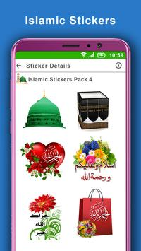 Islamic Stickers for Whats App: WAstickerapp 2019 poster