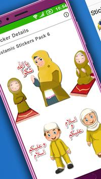 Islamic Stickers for Whats App: WAstickerapp 2019 screenshot 11