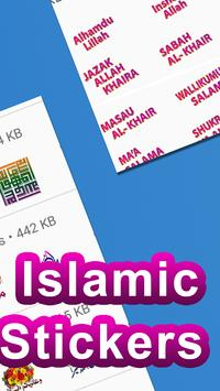 Islamic Stickers for Whats App: WAstickerapp 2019 screenshot 20