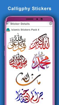 Islamic Stickers for Whats App: WAstickerapp 2019 screenshot 9