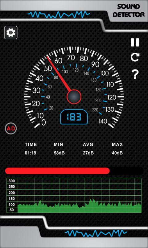 Sound Meter App Pro 2019: Find Sound Frequency for Android