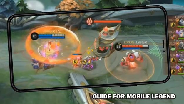 Guide for Mobile Legend Bang Walktrough screenshot 1