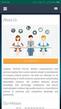 Laabhaa Techsoft Pvt.Ltd. screenshot 2