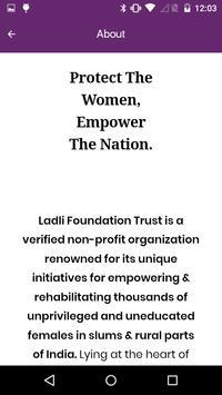 Laadli Rakshak- Protect women, Empower the nation screenshot 2