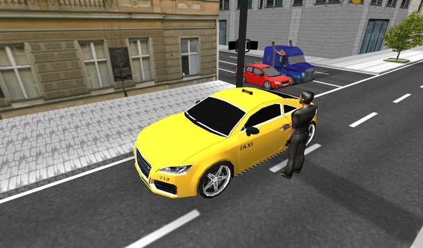 Taxi Car Driver screenshot 1