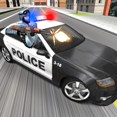 Police Car Racer 3D icon