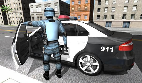 Police Car Racer 3D poster