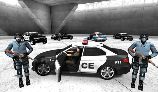 Police Car Racer 3D screenshot 1