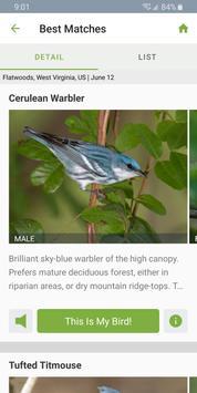 Merlin Bird ID syot layar 2