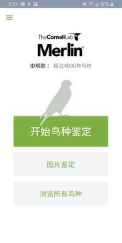 Merlin 鸟种识别  by Cornell Lab 海报