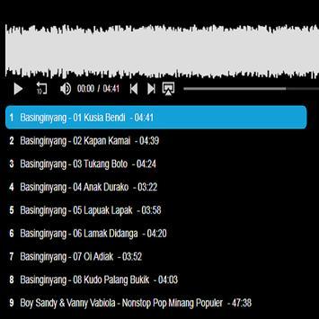 Song Minang Mp3 poster