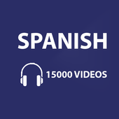 Learn Spanish with 15000 Videos icon