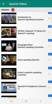 Learn Spanish with 15000 Videos screenshot 2