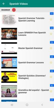 Learn Spanish with 15000 Videos screenshot 4