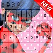 Keyboard ladybugs icon