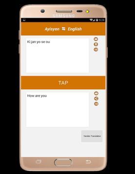Kreyòl Ayisyen ak Anglè Tradiksyon screenshot 2