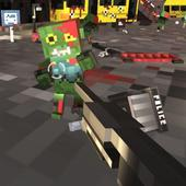 Zombie Shooter Craft Survival icon