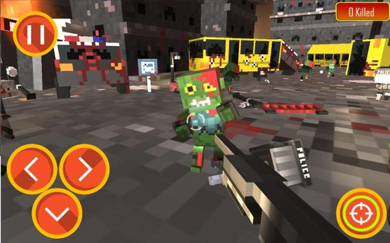 Zombie Shooter Craft Survival screenshot 8