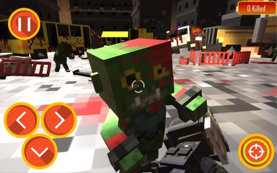 Zombie Shooter Craft Survival screenshot 1
