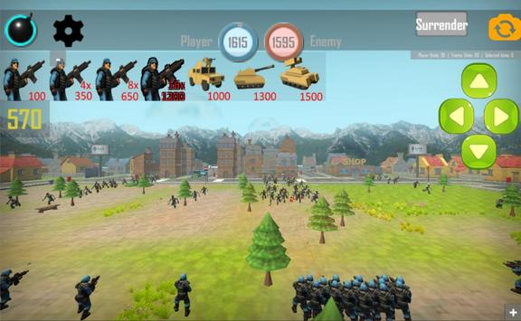 Zombies: Real Time World War screenshot 1