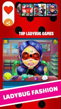 Ladybug Fashion and Miraculous dress up cat noir poster