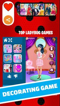 Ladybug Fashion and Miraculous dress up cat noir screenshot 3