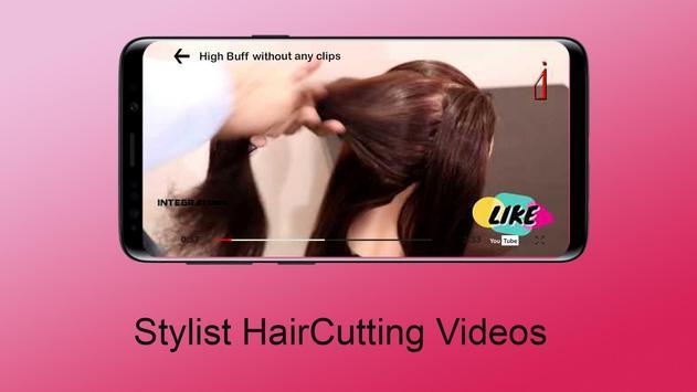 Hair Cutting Video (Girls/Men) screenshot 5