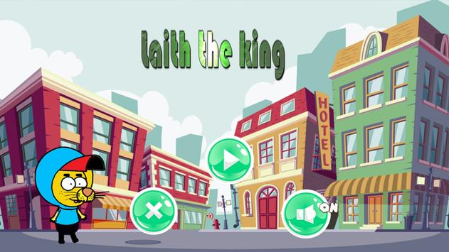 Laith the king Adventure poster