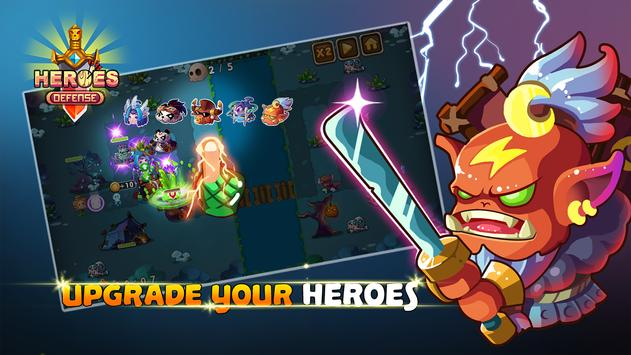 Heroes Defender Fantasy - Epic TD Strategy Game 截圖 12