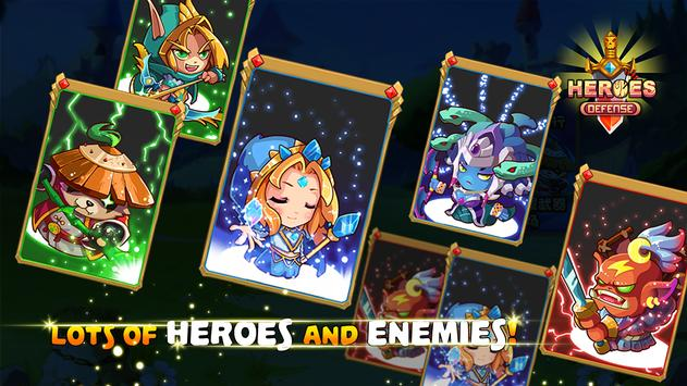 Heroes Defender Fantasy - Epic TD Strategy Game 截圖 1