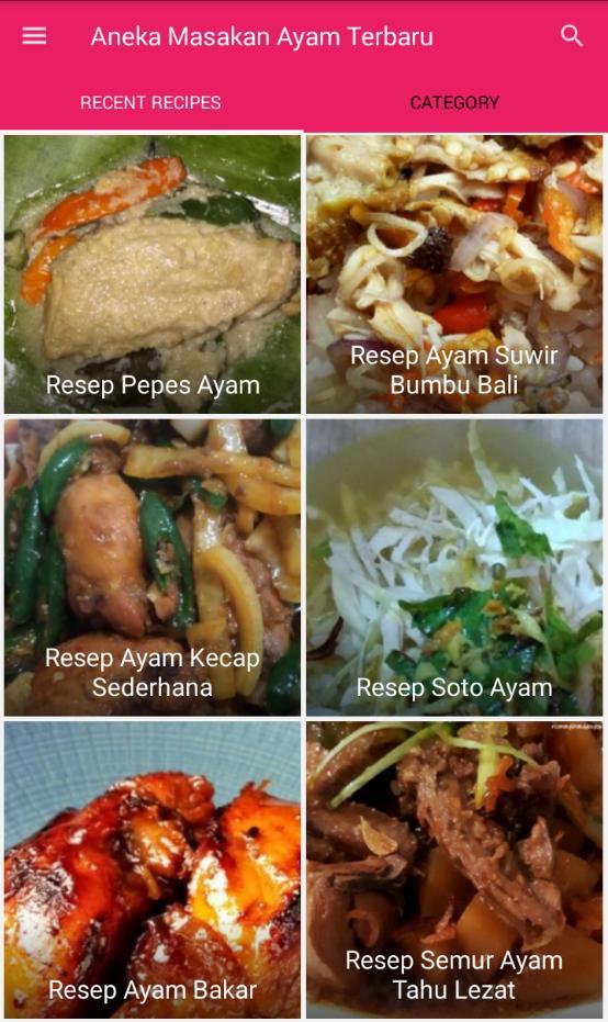 Aneka Resep Masakan Ayam Terbaru poster