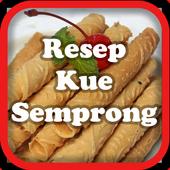 Resep Kue Semprong Terbaru icon