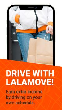 Lalamove Driver - Earn Extra Income Poster
