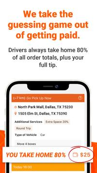 Lalamove Driver - Earn Extra Income captura de pantalla 1