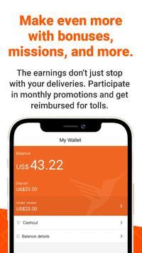 Lalamove Driver - Earn Extra Income captura de pantalla 4